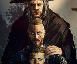 vikings, odin, and ragnar lothbrok image