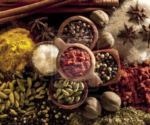 food, grains, and herbs image