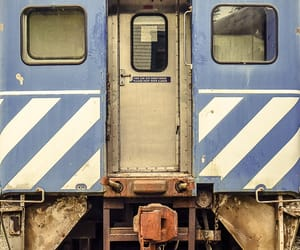 blue, railroad, and lines image