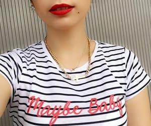 baby, mac lipstick, and saints image