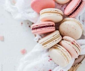 macarons, pastel, and pink image