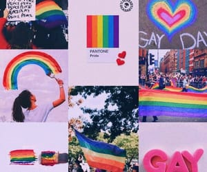 aesthetic, quality, and gay pride image