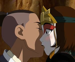 avatar the last airbender, suki, and sokka image