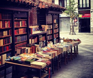 book, street, and vintage image