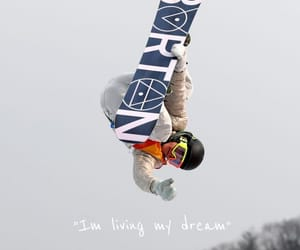 Dream, olympics, and snowboarding image