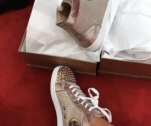 louboutin, luxury, and sneakers image