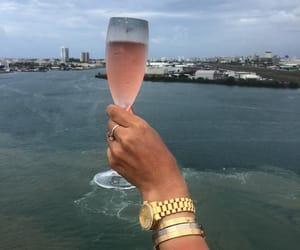 drink, luxury, and ocean image
