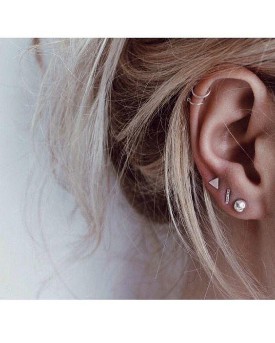Ear Piercings Shared By X Onlyme X On We Heart It