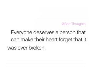 broken, healing, and move on image