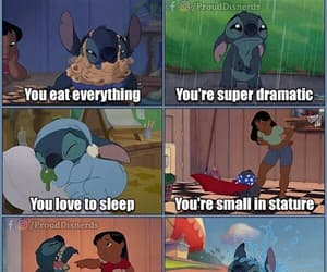 disney, stitch, and meme image