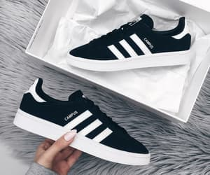 adidas, black and white, and classical image