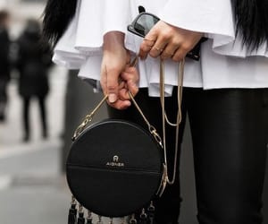 black, style, and bag image