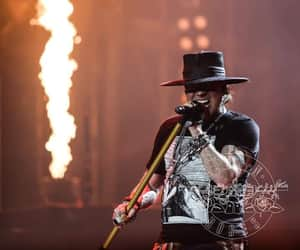 axl rose, notinthislifetime, and bands image
