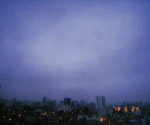 blue, city, and cielo image