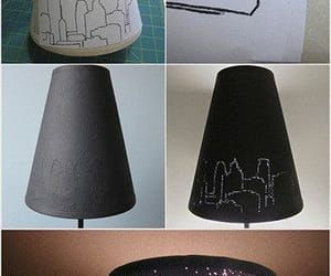 diy, lamp, and light image