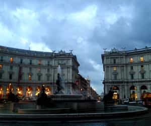 fountain, travel, and italy image