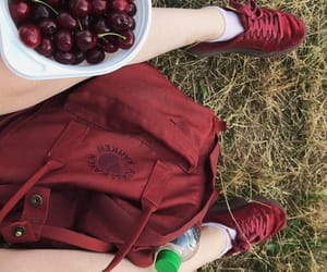 90s, burgundy, and cherry image