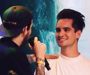 album, brendon urie, and eyes image