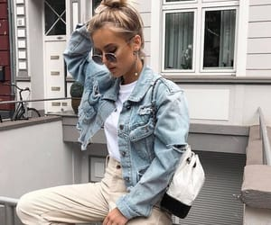 casual, denim, and outfit image