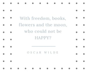 books, quotes, and The Moon image