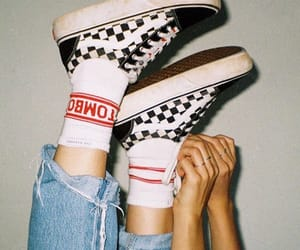 vans, shoes, and theme image
