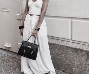 bag, chic, and dress image
