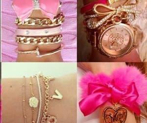 pulseiras, laços, and cute image