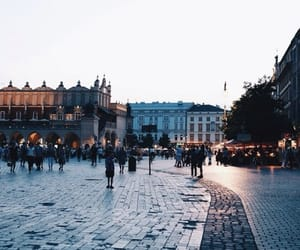 city, travel, and people image