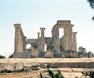 ancient greece, archaeology, and greek temple image