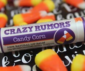 candy corn, Halloween, and lip balm image