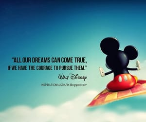 disney, Dream, and quotes image