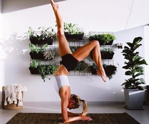 yoga and fitness image