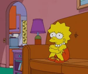simpsons, lisa, and mood image
