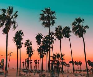 blue, california, and orange image