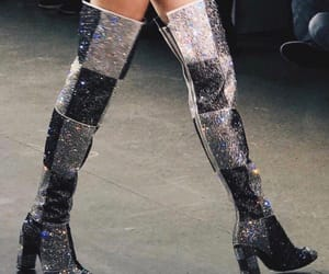 boots, fashion, and runway image
