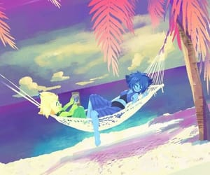 beach, peridot, and cute image