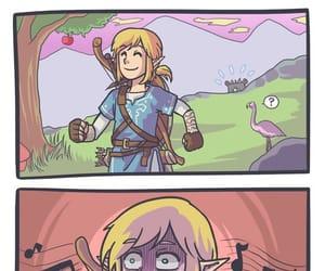 comic, funny, and Legend of Zelda image