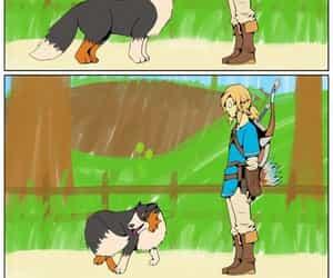 comic, dog, and link image