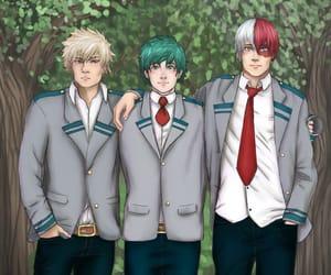 anime, midoriya, and deku image