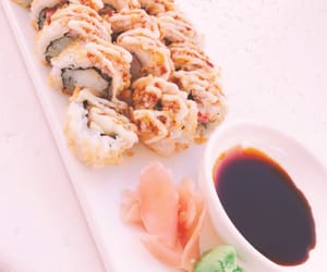 food, sushi, and obsessed image
