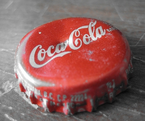 bottle cap, cap, and coca cola image