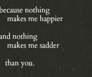 sad, happy, and you image