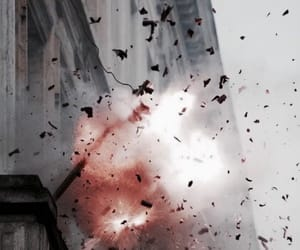 explosion and fire image