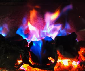 colors and fire image