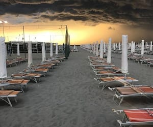 beach, italien, and nice image
