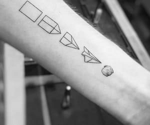 tattoo and airplane image