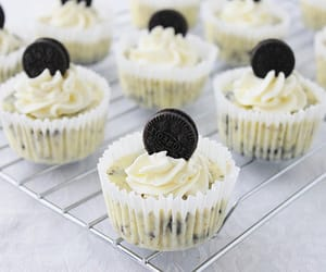 oreo, cupcake, and food image