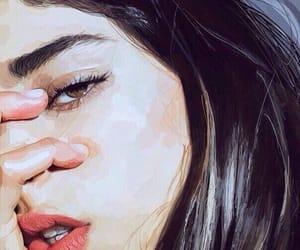 girl, art, and tumblr image