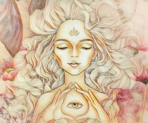 positive, third eye, and higher self image