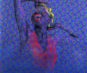 african art, paint, and pop art image